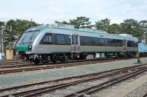 The first SMART train rolls off the assembly line in Japan.